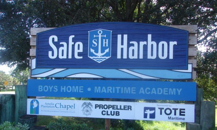 Safe Harbor Sign