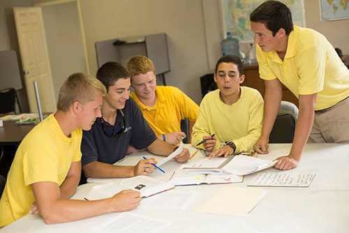 All boys boarding school
